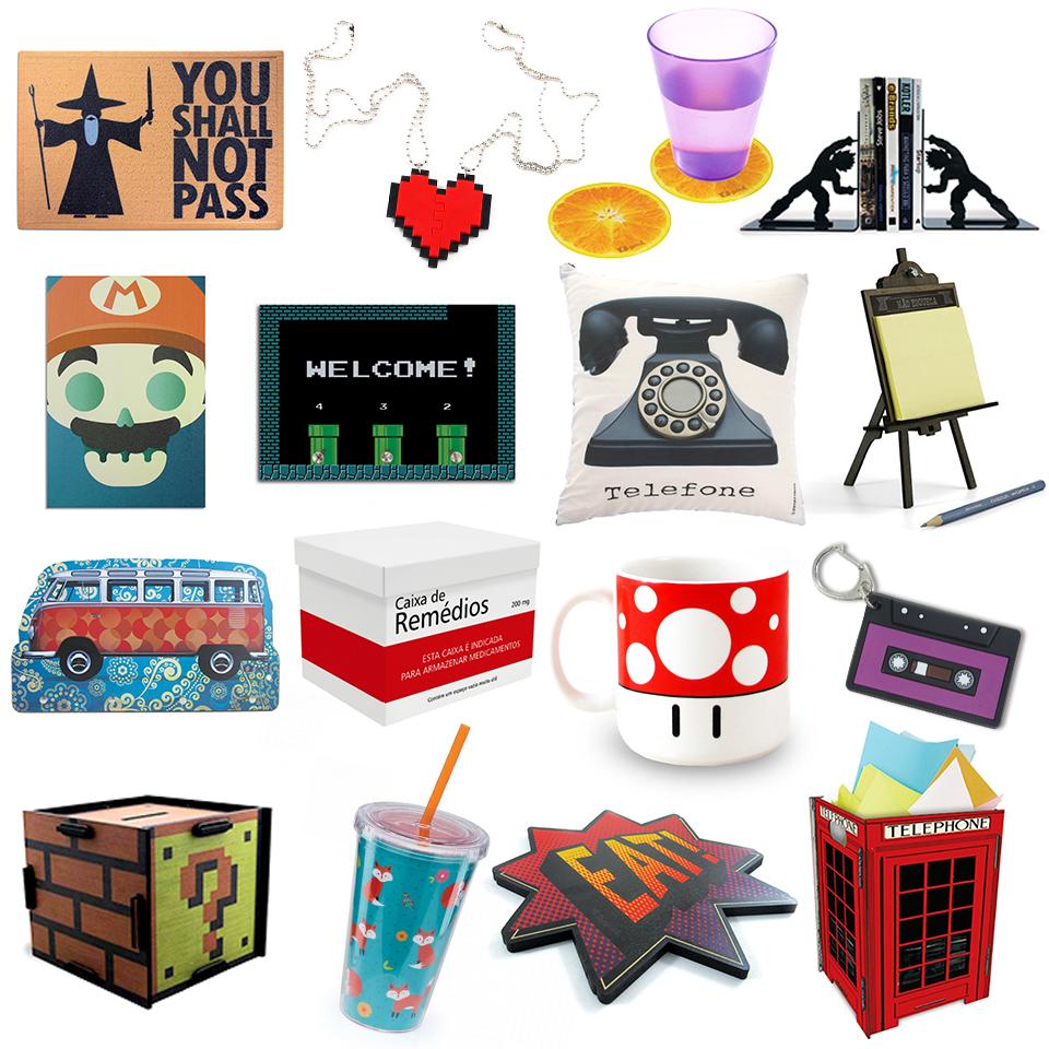 6 Presentes Criativos para Importar da China Artigos de decoração geek