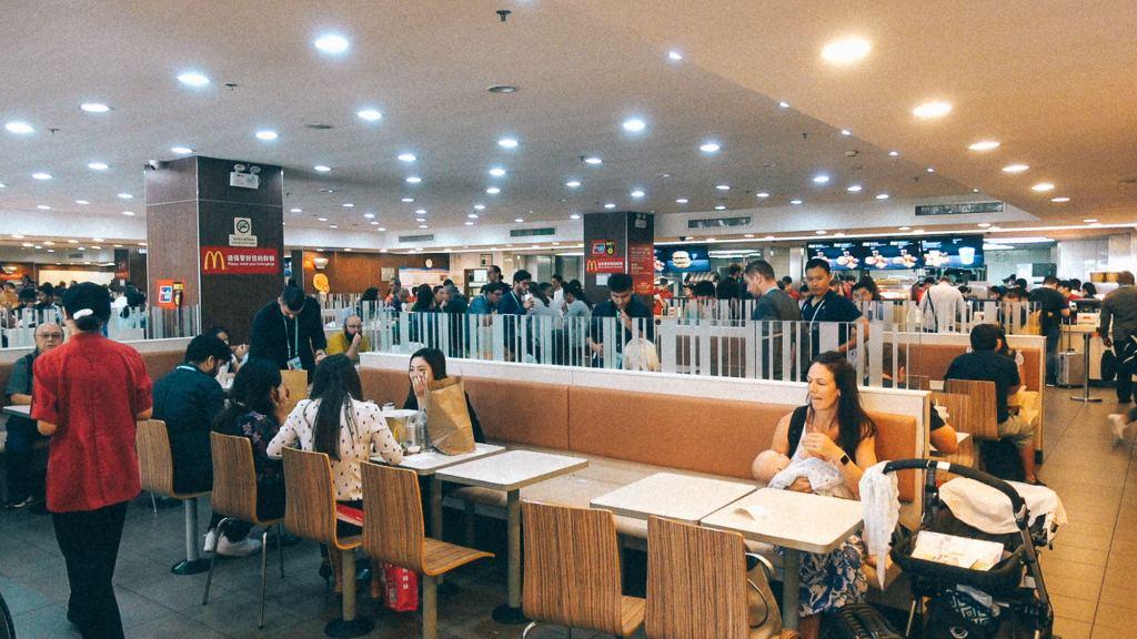 Aliexpress Brasil Praça de alimentação mcdonald's na China
