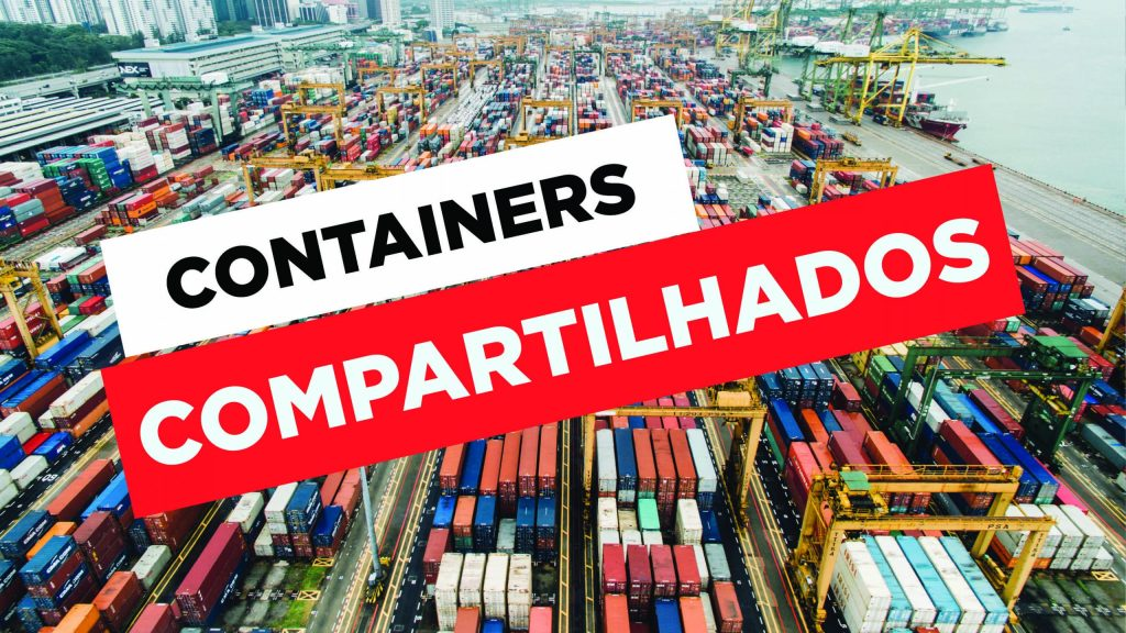 Como funciona containers compartilhados da China