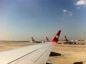 Transferes entre o aeroporto Ataturk e o centro de Istambul