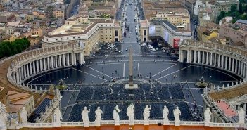 Viagens para Roma - Basílica e Praça de São Pedro