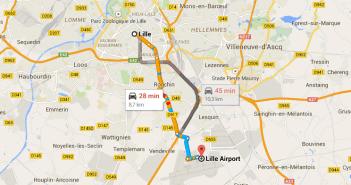 Transferes no aeroporto de Lille