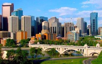 Como ir do aeroporto de Calgary para o centro da cidade