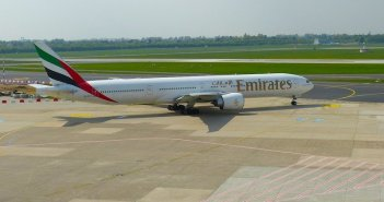 Emirates na classe executiva