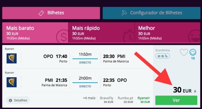 Voos Ryanair