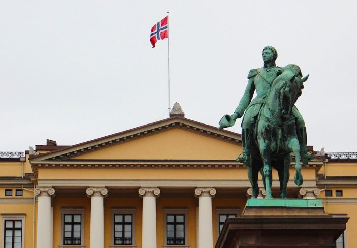 Palácio Real em Oslo