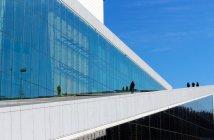 Arquitetura contemporânea em Oslo