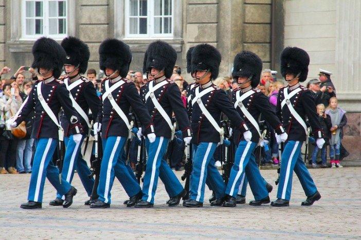 Palácio Real em Copenhaga