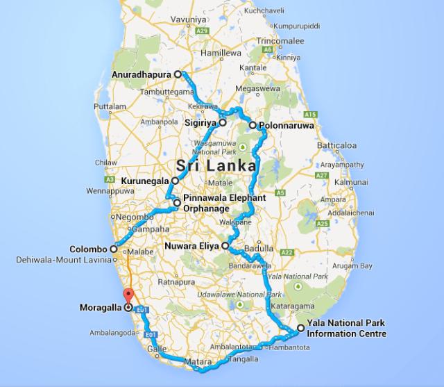 Périplo pelo Sri Lanka
