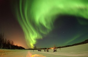 Circuito turístico na Finlândia