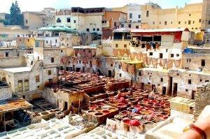 Circuito turístico em Marrocos