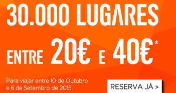 Promoções low cost para Londres, Paris e Madrid