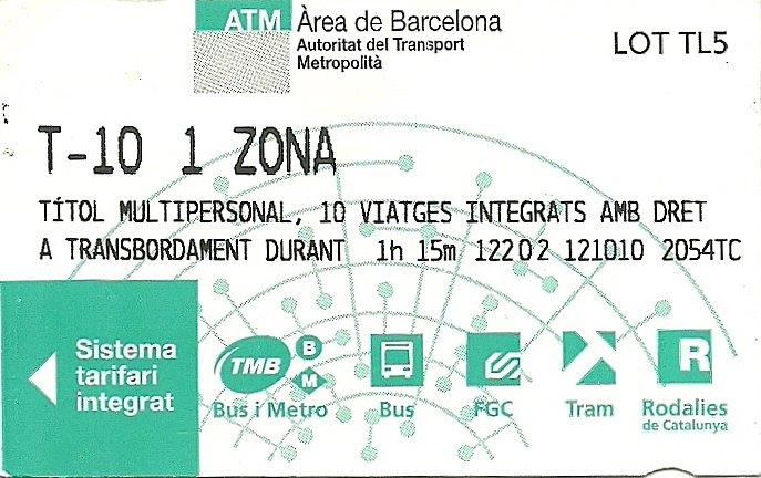 Circular em Barcelona