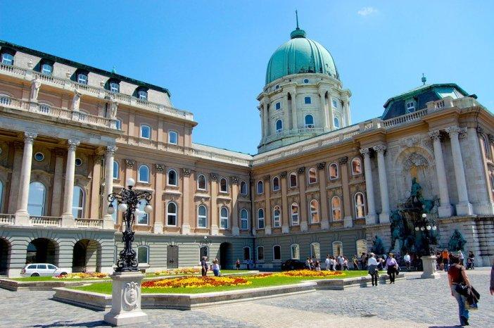 Bairro do Castelo em Budapeste