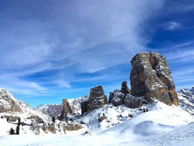 Esqui em Cortina d'Ampezzo