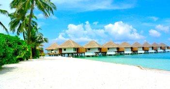 Paisagens das Maldivas