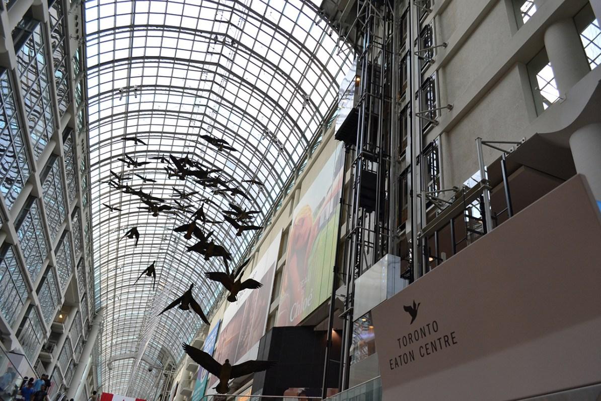 Maior shopping de Toronto
