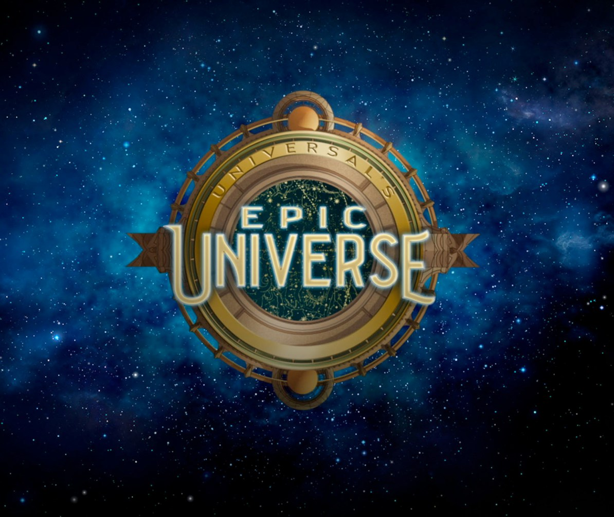 Logo do Universal's Epic Universe