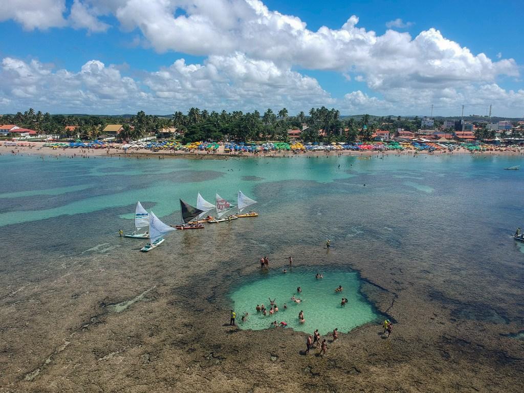Porto de Galinhas, um dos destinos para curtir o verão no Brasil