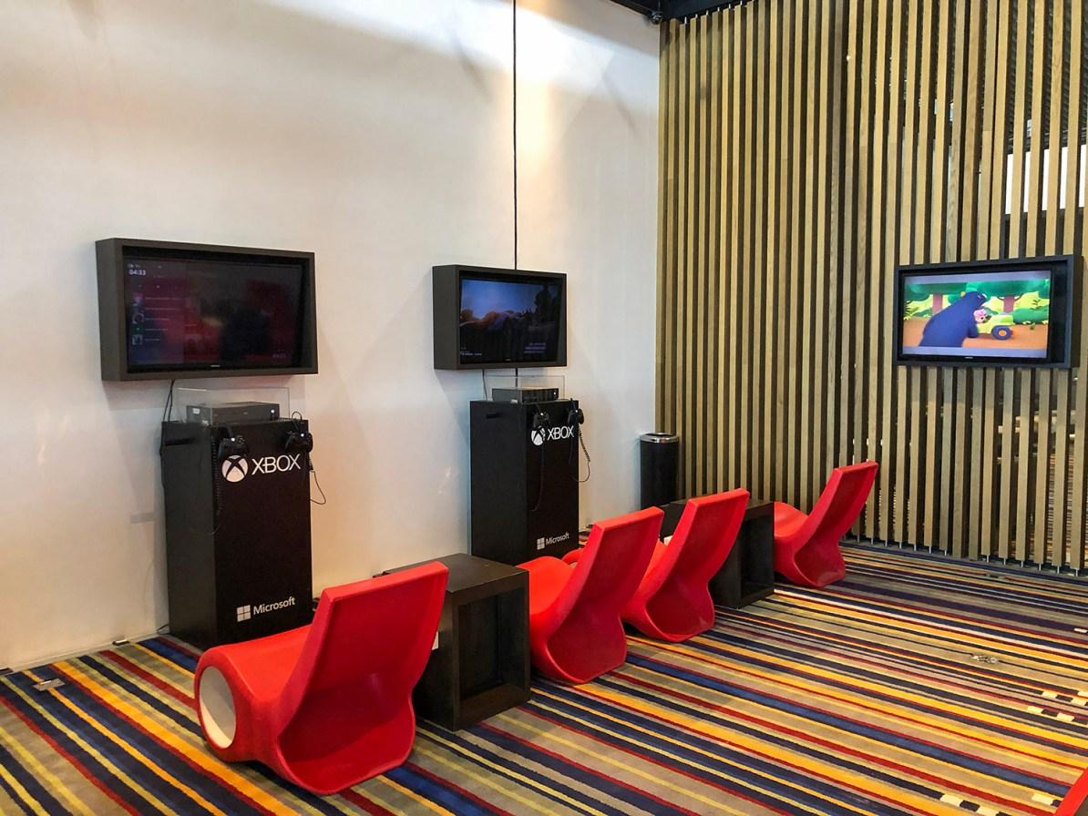 Entretenimento na VIP Lounge