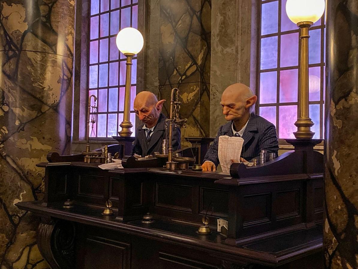 Banco de Gringotts - Harry Potter