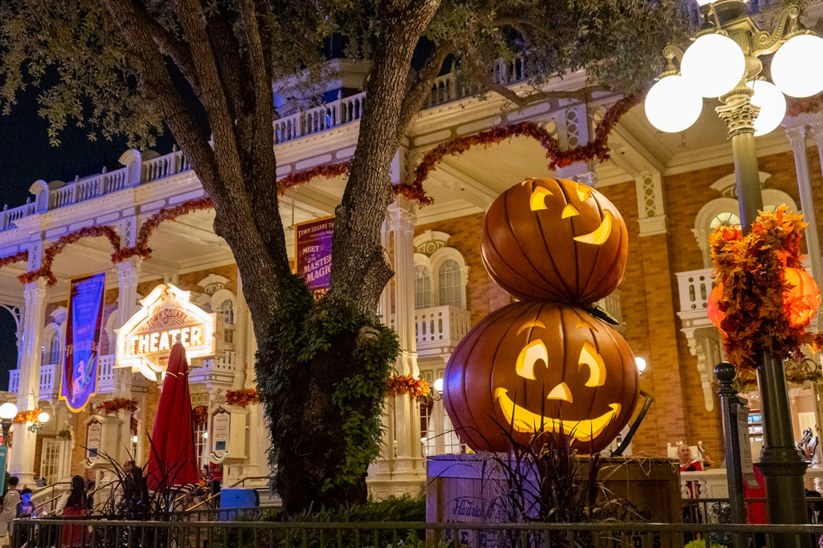 Magic Kingdom no Halloween
