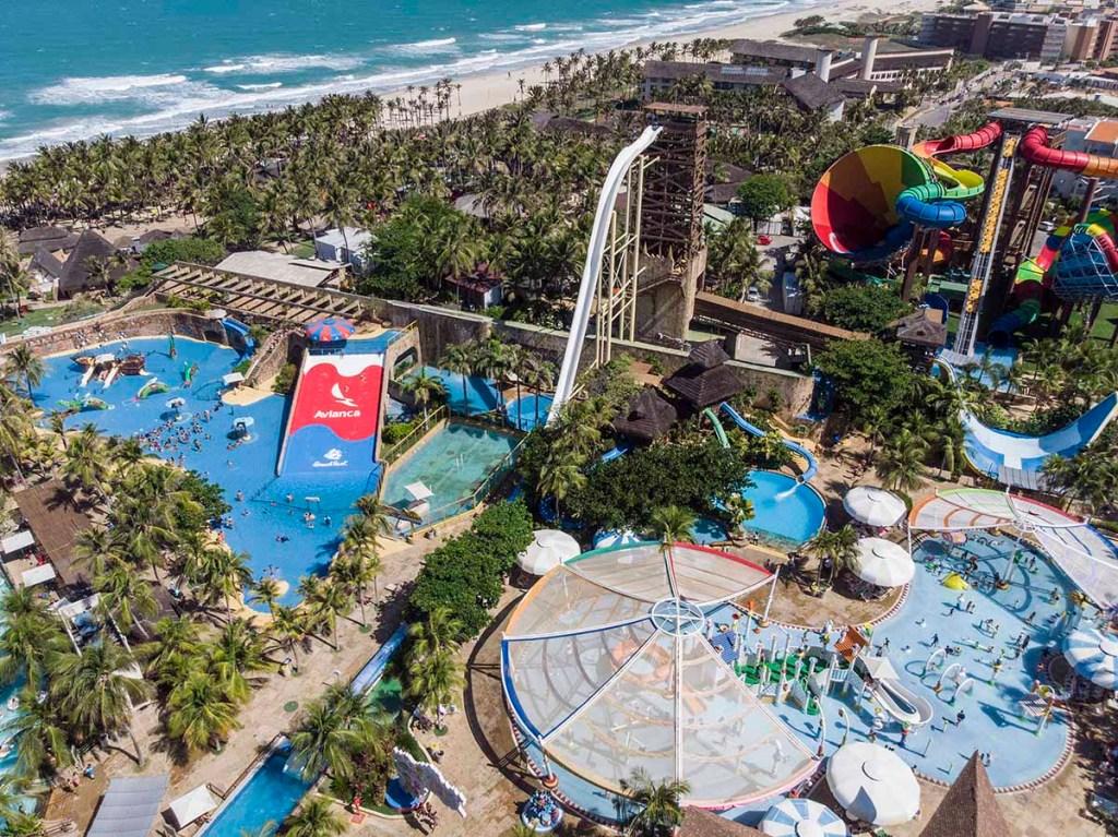 Melhores parques aquáticos do Brasil - Beach Park