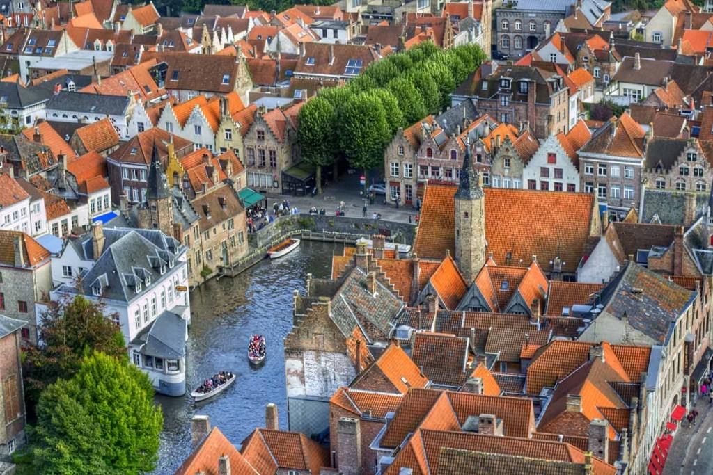 Bruges vista de cima