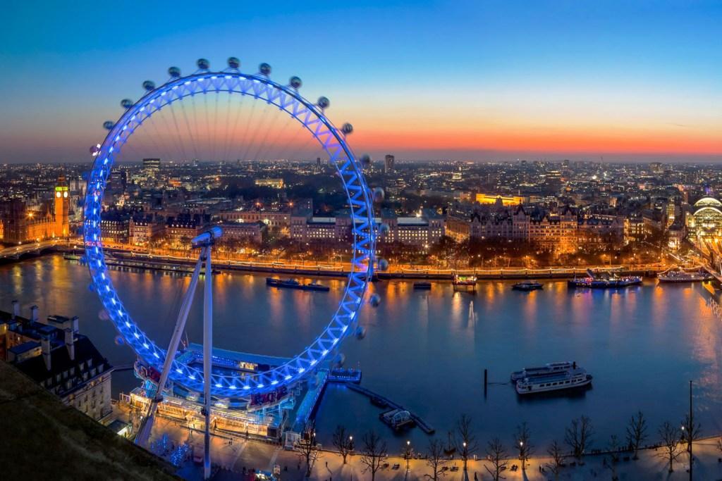 Rodas Gigantes - London Eye