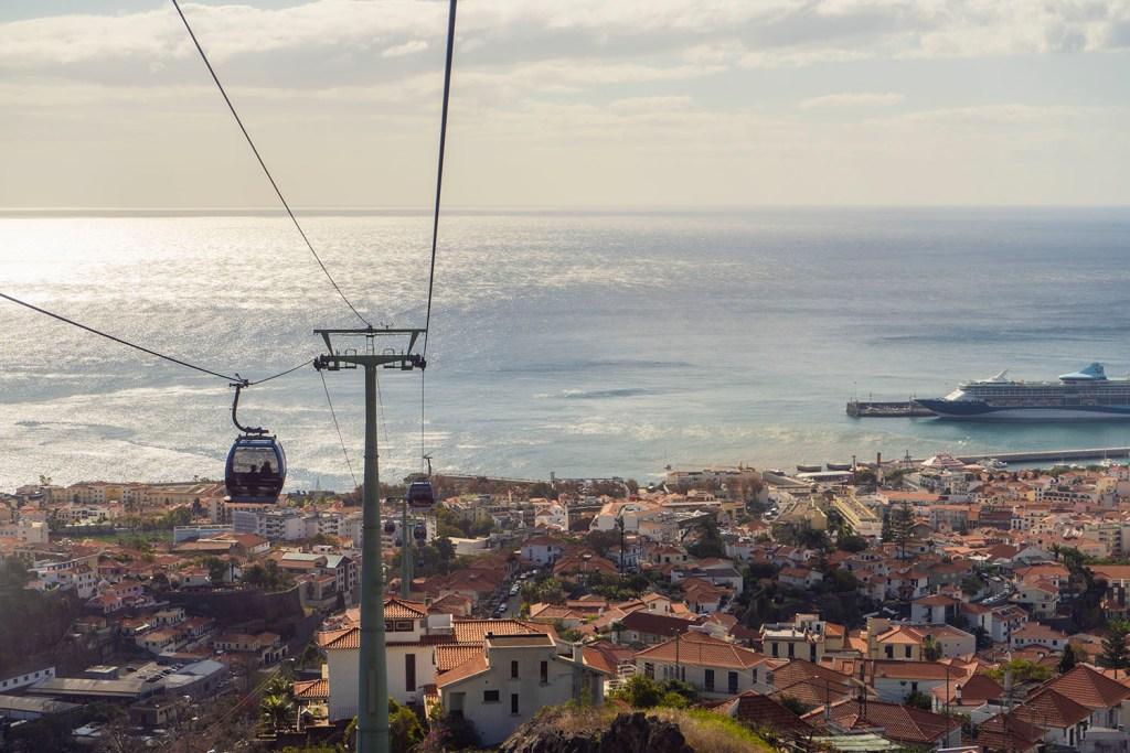 Teleférico Funchal - Ilha da Madeira