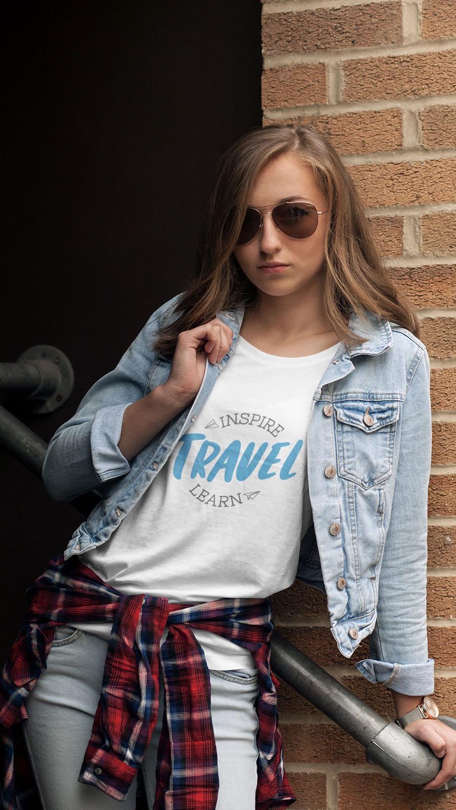 Linha de camisetas Destinos Imperdíveis
