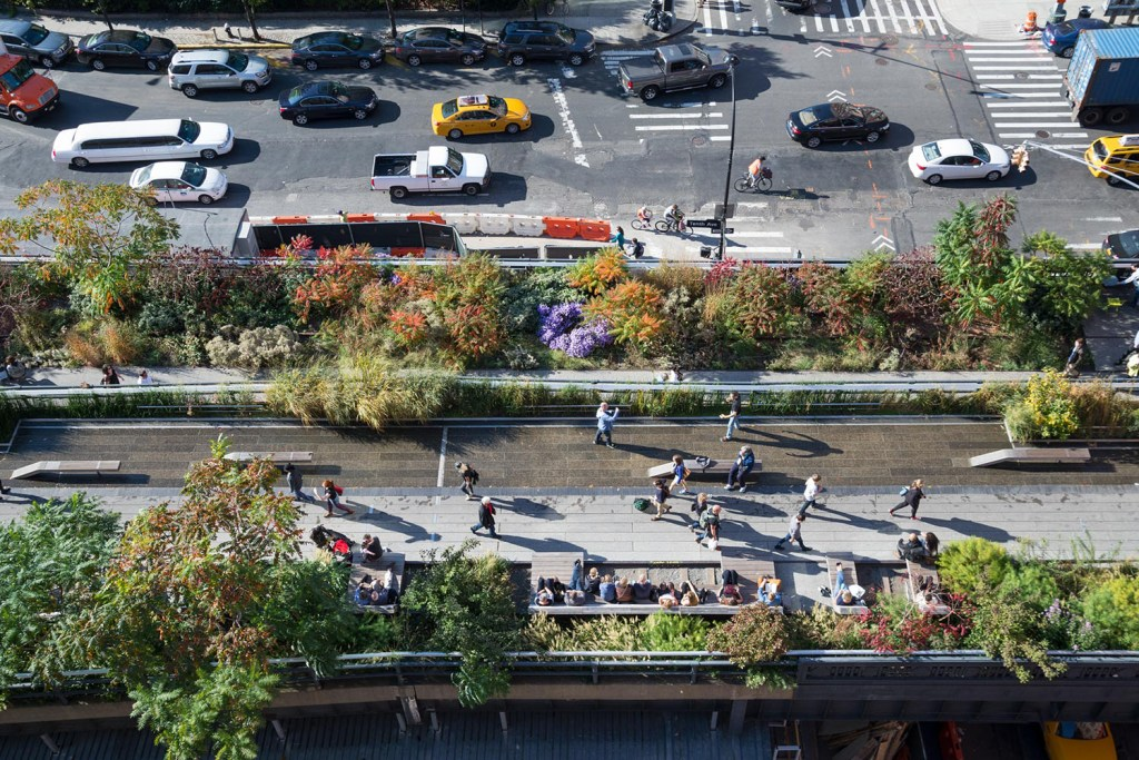 Passeios alternativos de Nova York: High Line Park