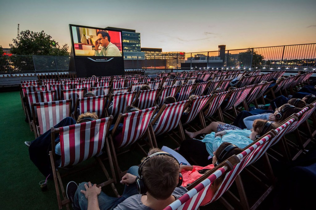 Rooftop Cinema Club