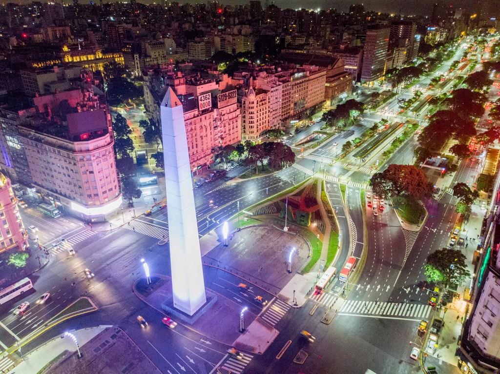 Av. 9 de Julho - Melhores passeios de Buenos Aires