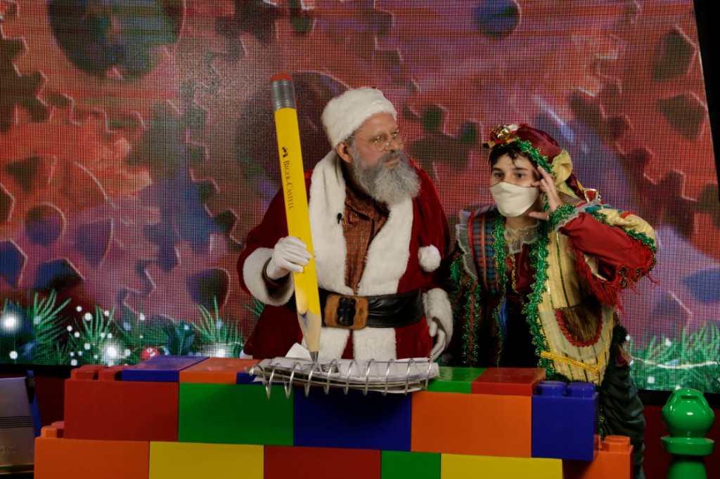 Papai Noel no Sonho de Natal de Canela