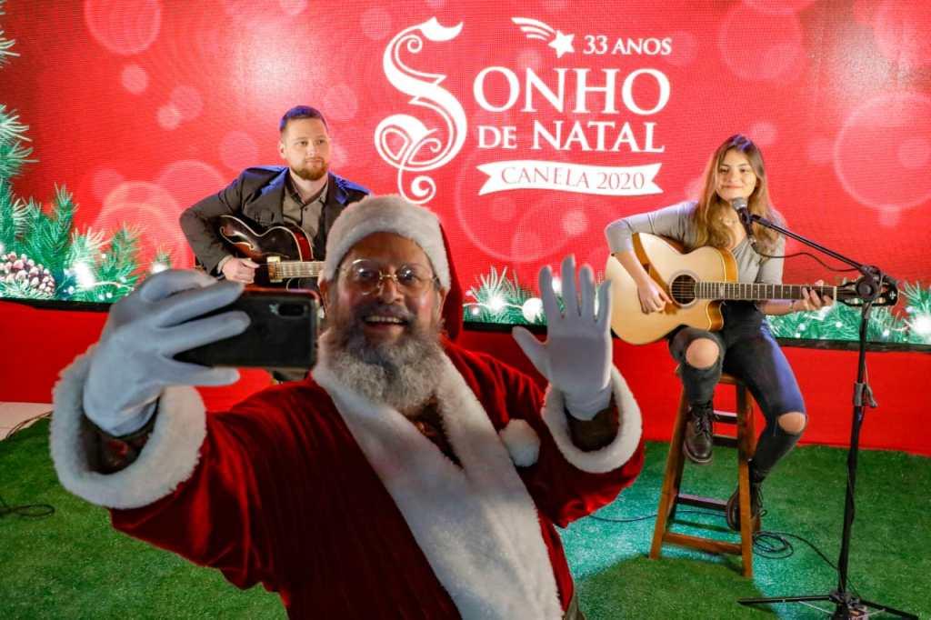Papai Noel na Live