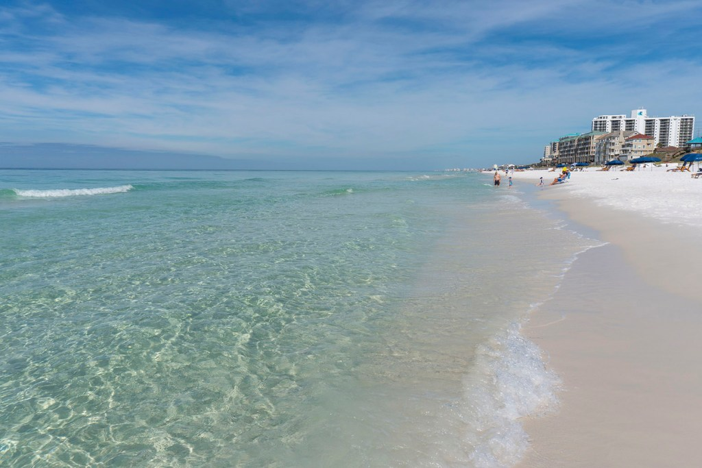 As praias cristalinas de Destin (Foto: Andy Spinelli)