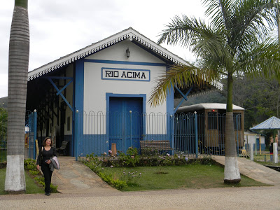 RIO ACIMA – Trem das Cachoeiras