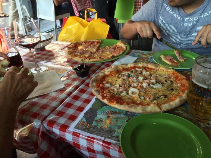 Pizza em Antuérpia