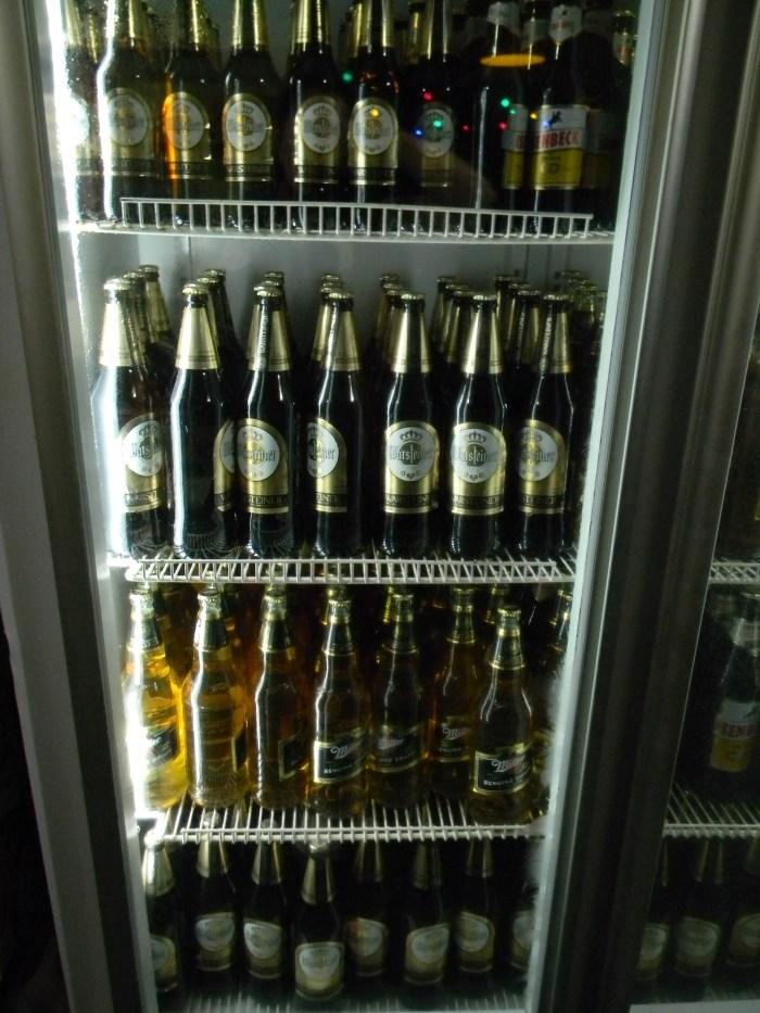 e as cervejas disponíveis