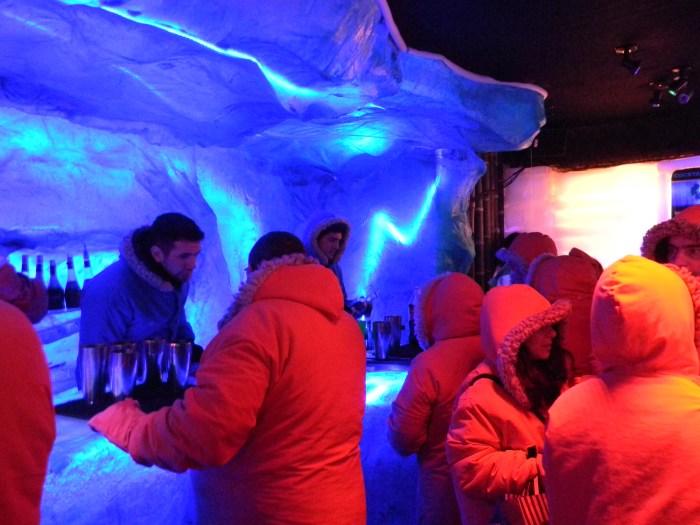 O balcão de gelo