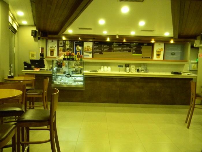 interior da tradicional sorveteria