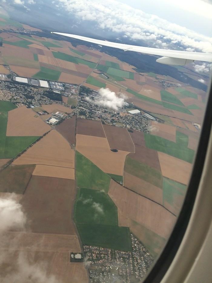 A linda decolagem do Aeroporto Charles de Gaulle. Foto: GGOP / Blog Destinos por onde andei...