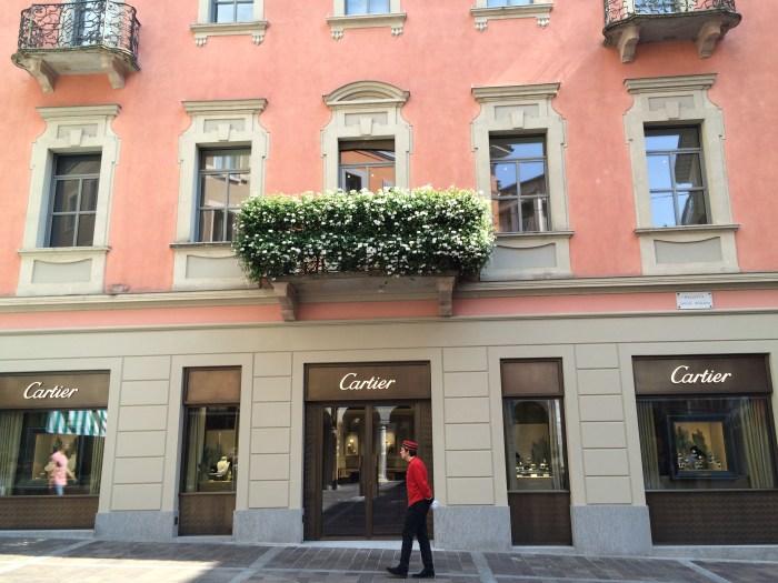 A loja da grife Cartier