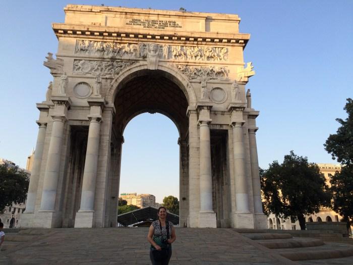 A Piazza della Vittoria acolheu o evento - FAAP / Blog Destinos por onde andei...