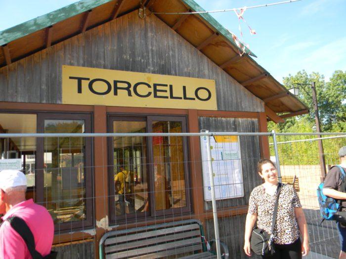 Chegando à Torcello