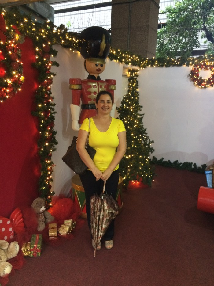 Na casa do Papai Noel