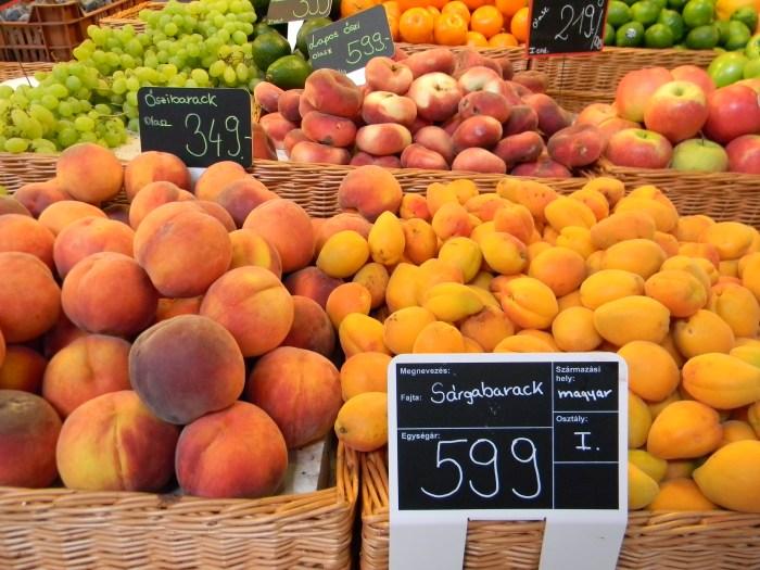 Mercado Budapeste Frutas