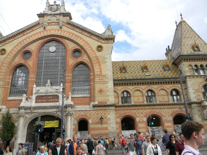 Entrada do Mercado Budapeste