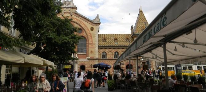 O Mercado Municipal de Budapeste